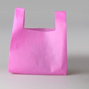 Shopper in tessuto non tessuto con manici a canottiera
